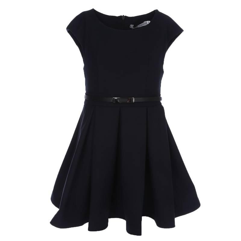 Платье Nota Bene, цв. темно-синий, 146 р-р 18122040129