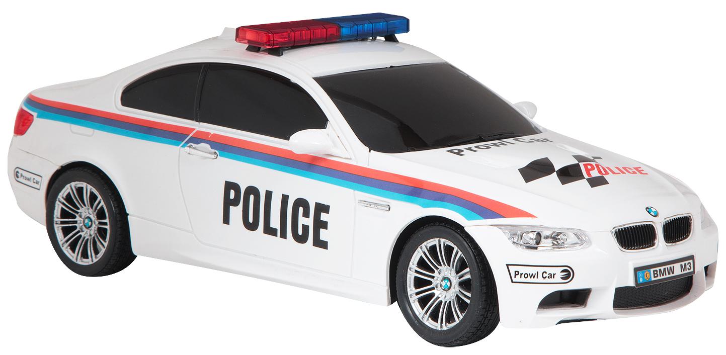 Машина на радиоуправлении Zhorya Maxi car. Police BMW M3 1:18