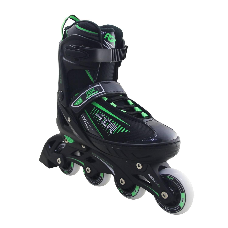 Раздвижные роликовые коньки RGX Air Green