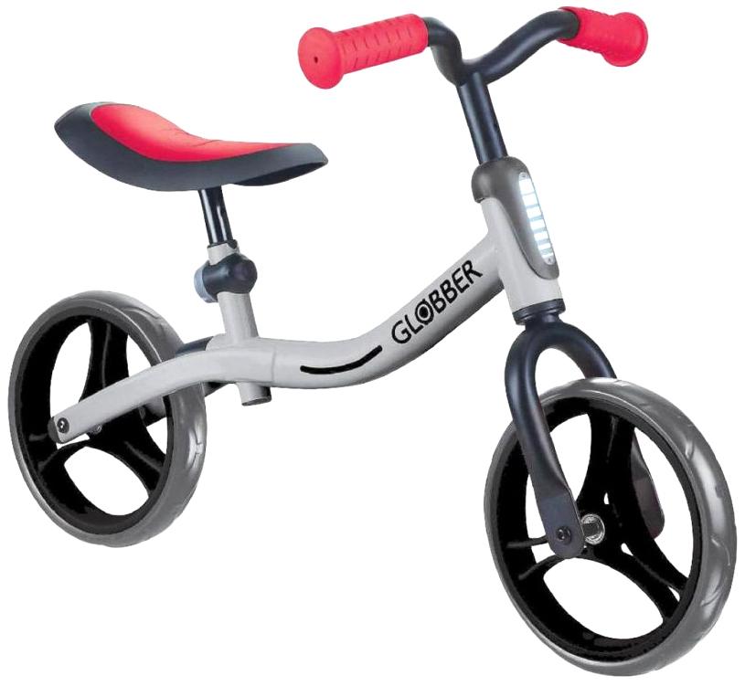 Беговел Globber Go Bike серо-красный
