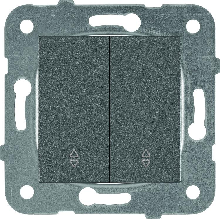 Выключатель Panasonic Karre Plus WKTT0011-2DG-RES