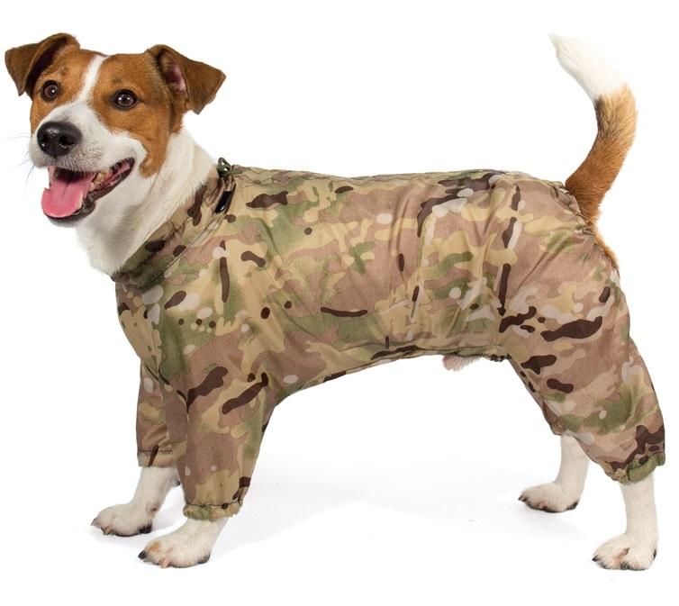 Комбинезон для собак Gamma Джек Рассел терьер, зимний, спина 30 см