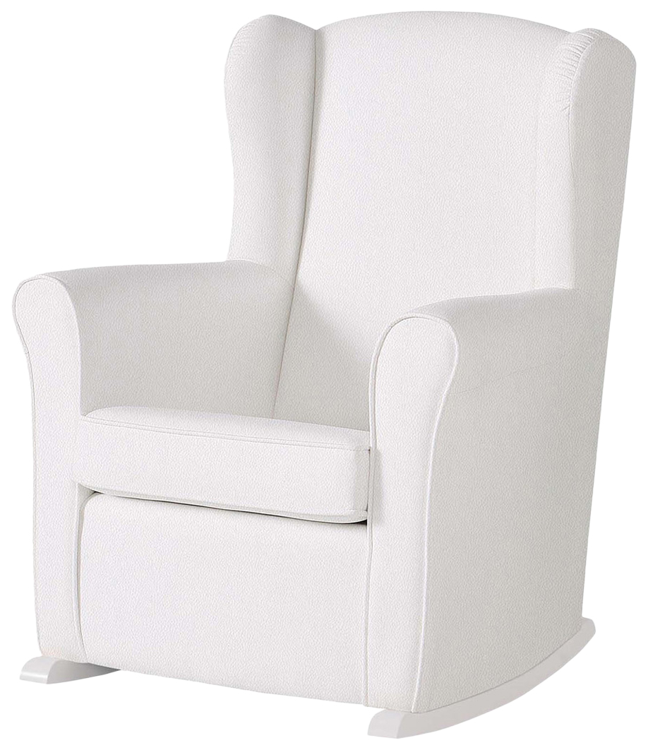 Купить Кресло-качалка Micuna (Микуна) Wing/Nanny Relax white/white искусственная кожа, Детские стульчики