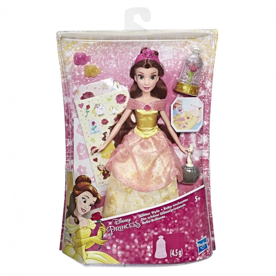 Купить DISNEY PRINCESS. Кукла Сверкающая Белль, Hasbro, Классические куклы