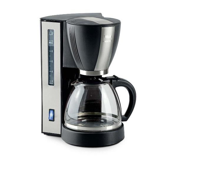 Кофеварка капельного типа Vitek VT-1509 Black/Silver