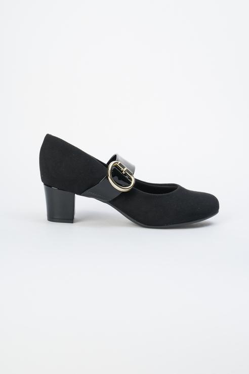 Туфли женские Beira Rio 645-01-BBR-01-TT черные 39 RU фото