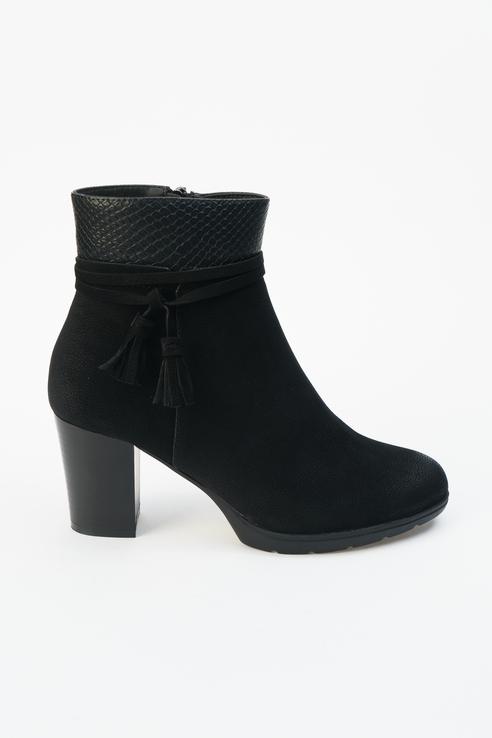 Ботинки женские ZENDEN 91-33WN-010GR черные 37 RU фото