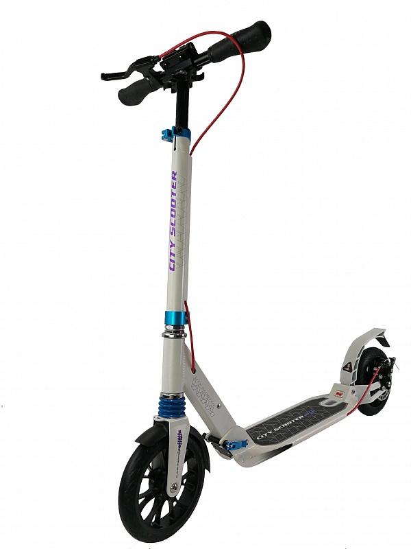 Купить Городской самокат Sportsbaby City Scooter Disk Brake MS-107, Самокаты детские двухколесные
