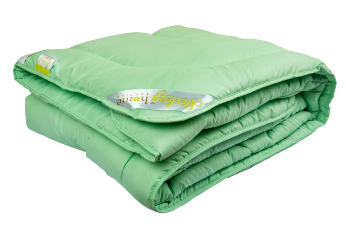Одеяло Sterling Home Textile БАМБУК (всесезонное) микрофибра 170x205, 2-х спальное