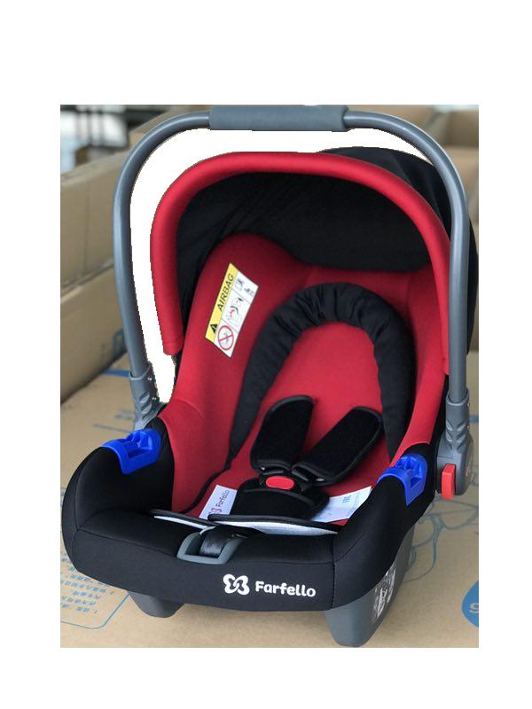 Автокресло детское Farfello, цв. красно-черный KS-2150 r