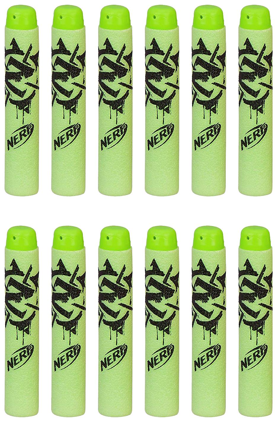Купить Набор стрел для Бластера Hasbro Nerf Zombie Strike 12 шт. B3861, Стрелы детские