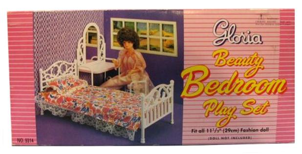 Мебель для кукол Gloria Beauty Спальня