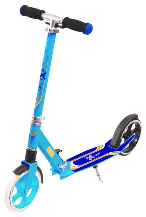 Купить Самокат Explore target blue, Самокаты детские двухколесные
