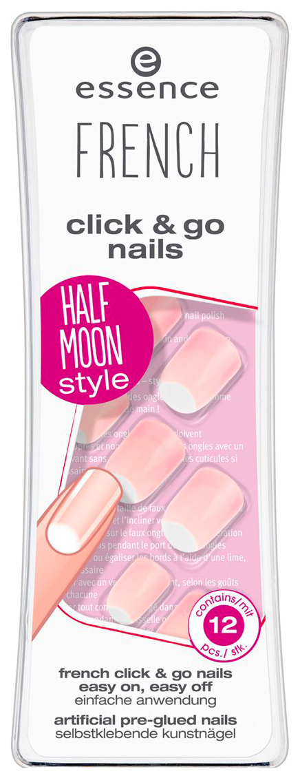 Накладные ногти Essence French Click #and# Go Nails 04 I\'m A Fashion Girl 12 шт