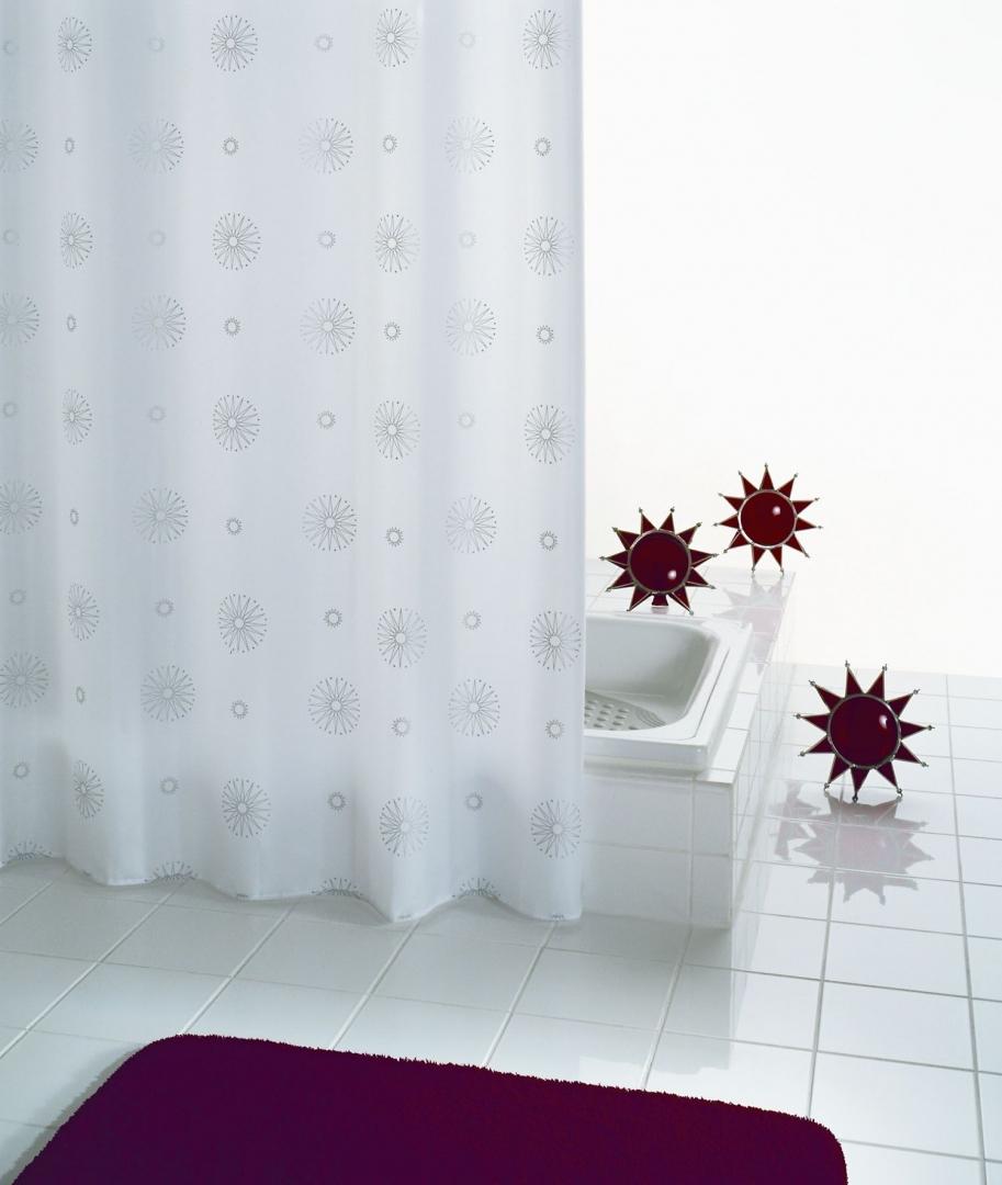 Штора для ванных комнат Cosmos белый 180*200