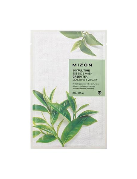 Купить Маска для лица Mizon Joyful Time Essence Green Tea 23 г