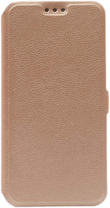 Чехол GOSSO CASES Book Type UltraSlim для Xiaomi Redmi 6A золотой