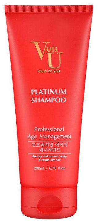 Шампунь Von U Platinum (Defense Age) Shampoo