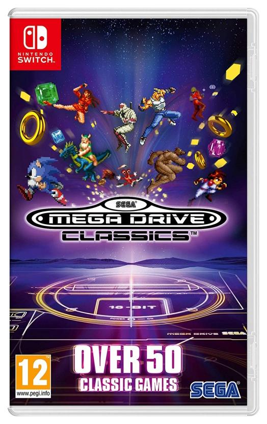 Игра SEGA Mega Drive Classics для Nintendo