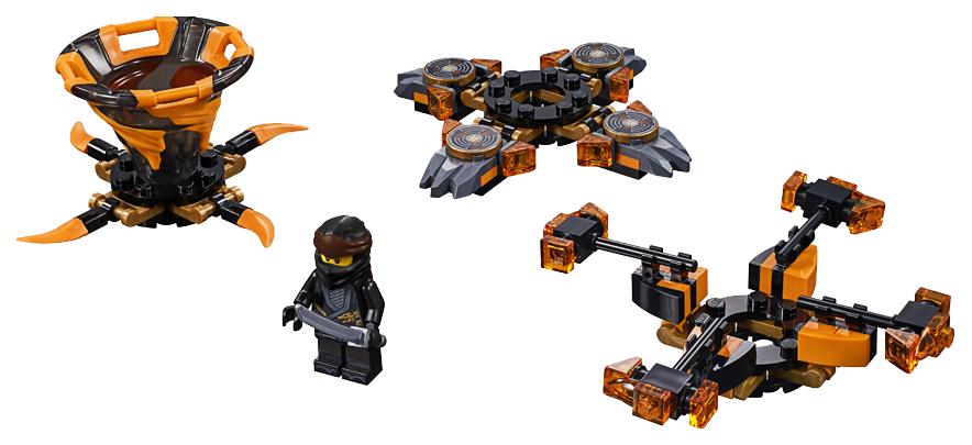 Купить Конструктор lego ninjago 70662 коул: мастер кружитцу, Конструктор LEGO Ninjago 70662 Коул: мастер Кружитцу