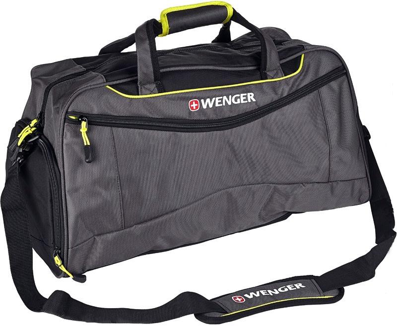 Дорожная сумка Wenger 72614661 серая/салатовая 57 x 28 x 30 фото