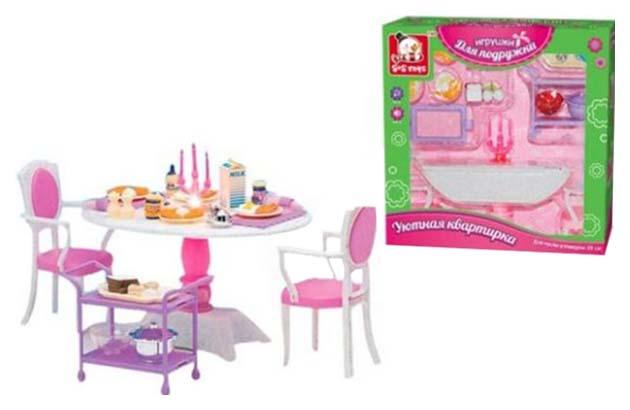 Купить Игровой набор Наша Игрушка Уютная квартирка Набор мебели 100328698, Наша игрушка,