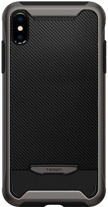 Чехол Spigen Hybrid NX (063CS24943) для iPhone X/Xs (Gunmetal)