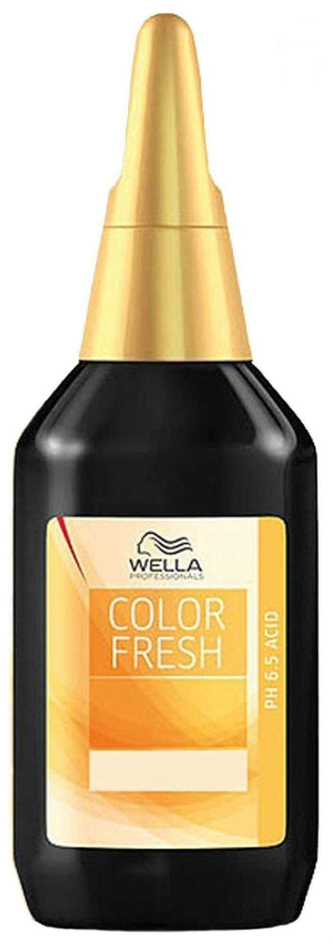 Краска для волос Wella Color fresh acid 6/34 Темно-золотистый медный 75 мл
