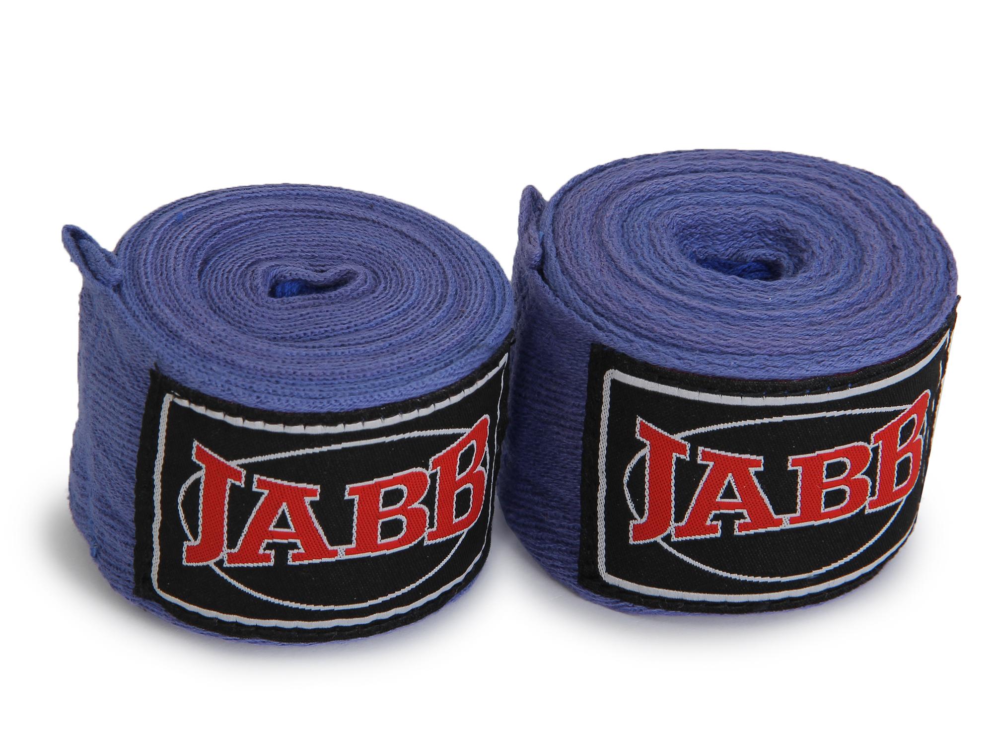 Боксерские бинты Jabb JE-3030 3,5 м синие