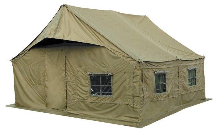 Палатка Tengu Mark 18T 12-местная зеленая