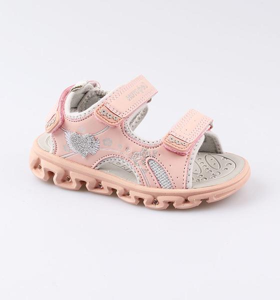Купить Пляжная обувь Котофей для девочки р.27 324017-12 розовый, Шлепанцы и сланцы детские