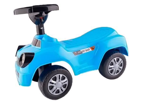 Купить Каталка детская Shantou Gepai Машина голубая QX-3390-2, Машинки каталки