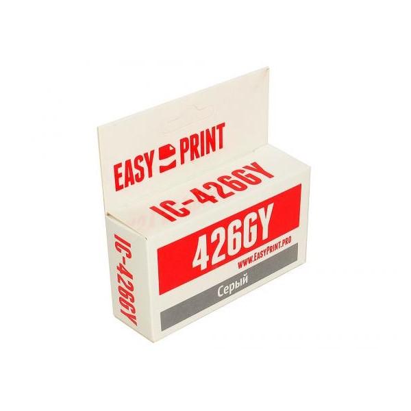 Картридж для струйного принтера EasyPrint IC-CLI426GY серый фото