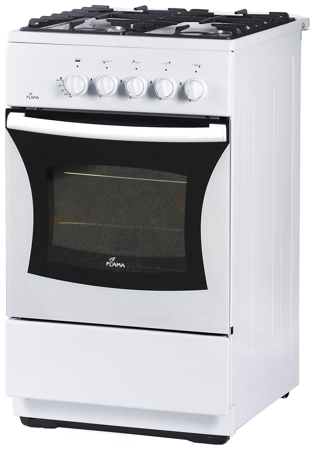 Газовая плита Flama FG 24028 W White