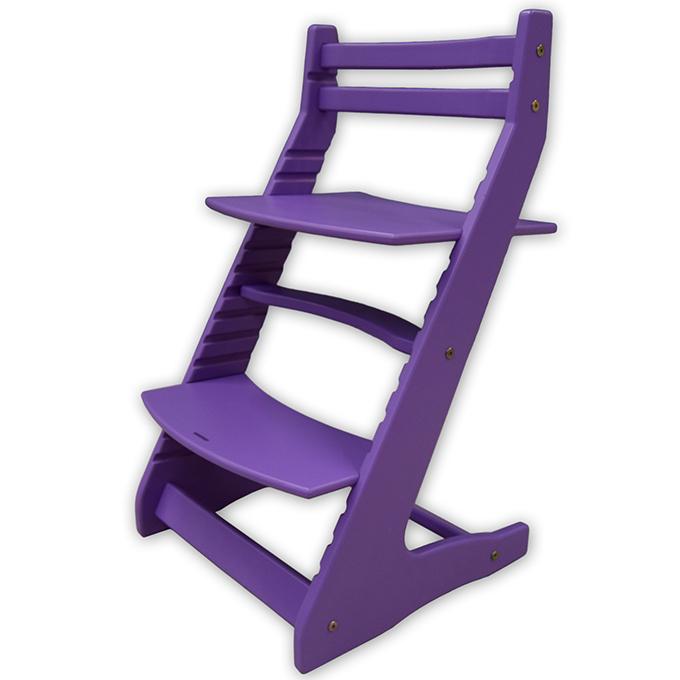 Детский растущий стул Вырастайка фиолетовый