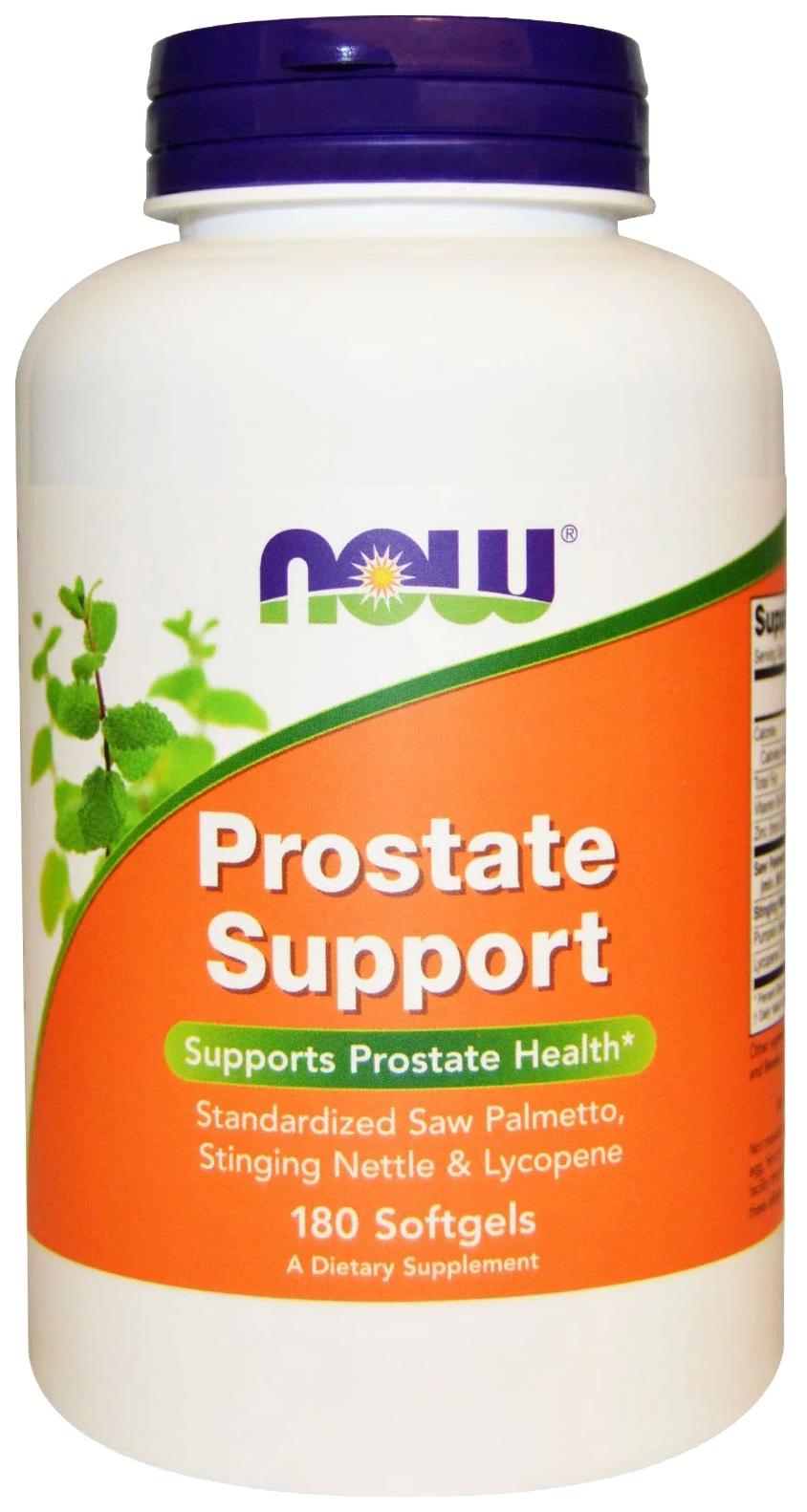 Купить Поддержка предстательной железы Now Foods Prostate Support 180 капсул