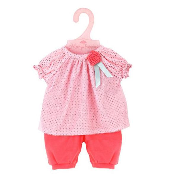 Купить MARY POPPINS Одежда для куклы 38-43 см Мэри, блуза и штанишки 452149, Одежда для кукол