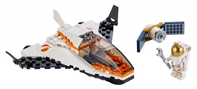 Купить City Space Port, Конструктор LEGO City Миссия по ремонту спутника, LEGO для девочек