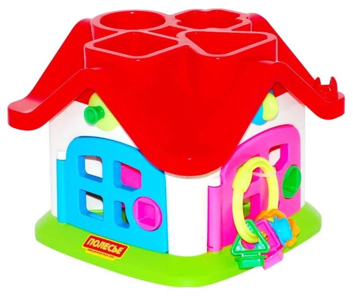 Развивающая игрушка Полесье Логический теремок в коробке