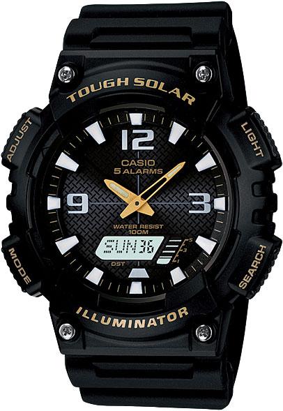 Наручные часы кварцевые мужские Casio Collection AQ-S810W-1B