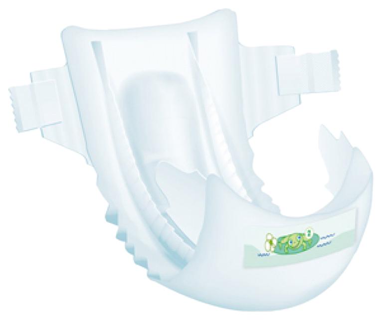 Купить Подгузники для новорожденных детские Bambo Nature Mini 2, 3-6 кг, 30 шт.,
