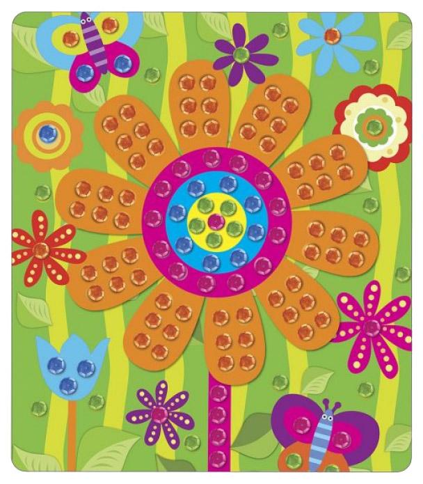 Купить Поделка Color Puppy Цветок 95362, Рукоделие