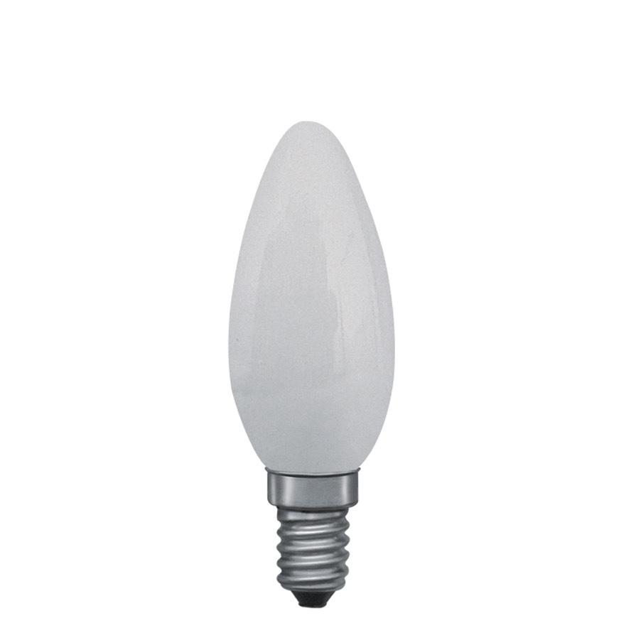 Лампа накаливания Свеча Paulmann 8 Вт Е14 35 мм Матовая 44908