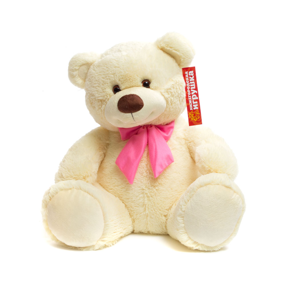 Купить Мягкая игрушка Мишка средний 55 см Нижегородская игрушка См-390-5, Мягкие игрушки животные