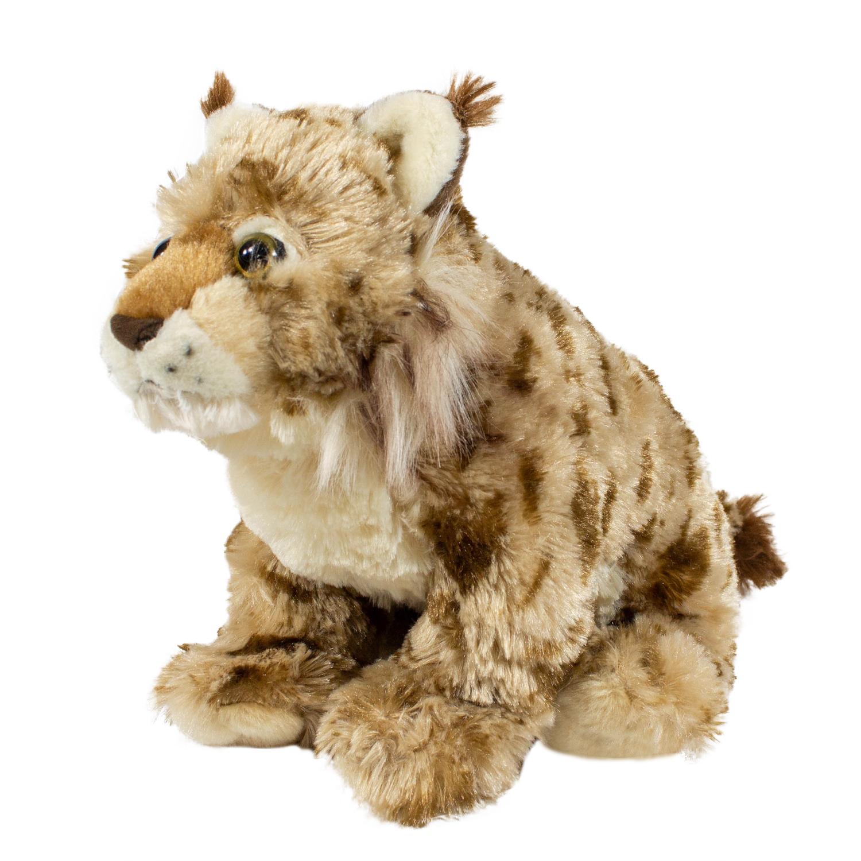 Купить Мягкая игрушка Wild republic Рысь, 30 см 12247, Мягкие игрушки животные