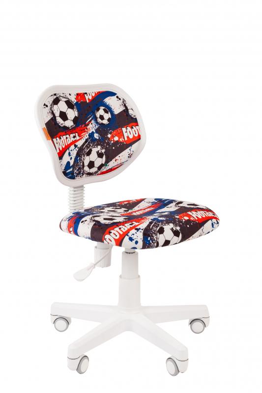 Купить Kids 106 белый пластик, Кресло Chairman Kids 106 Россия ткань футбол, Детские стульчики