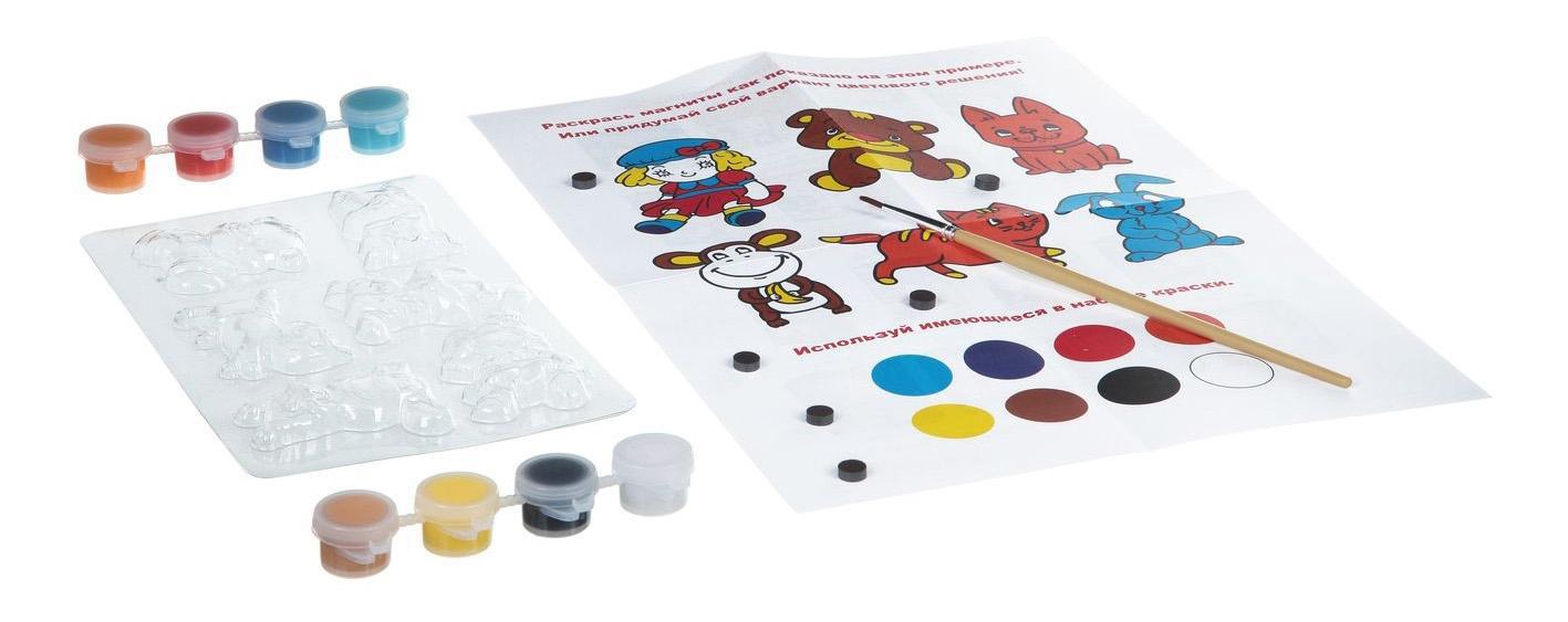 Купить Набор для творчества Bondibon магниты из гипса вв1433, Рукоделие