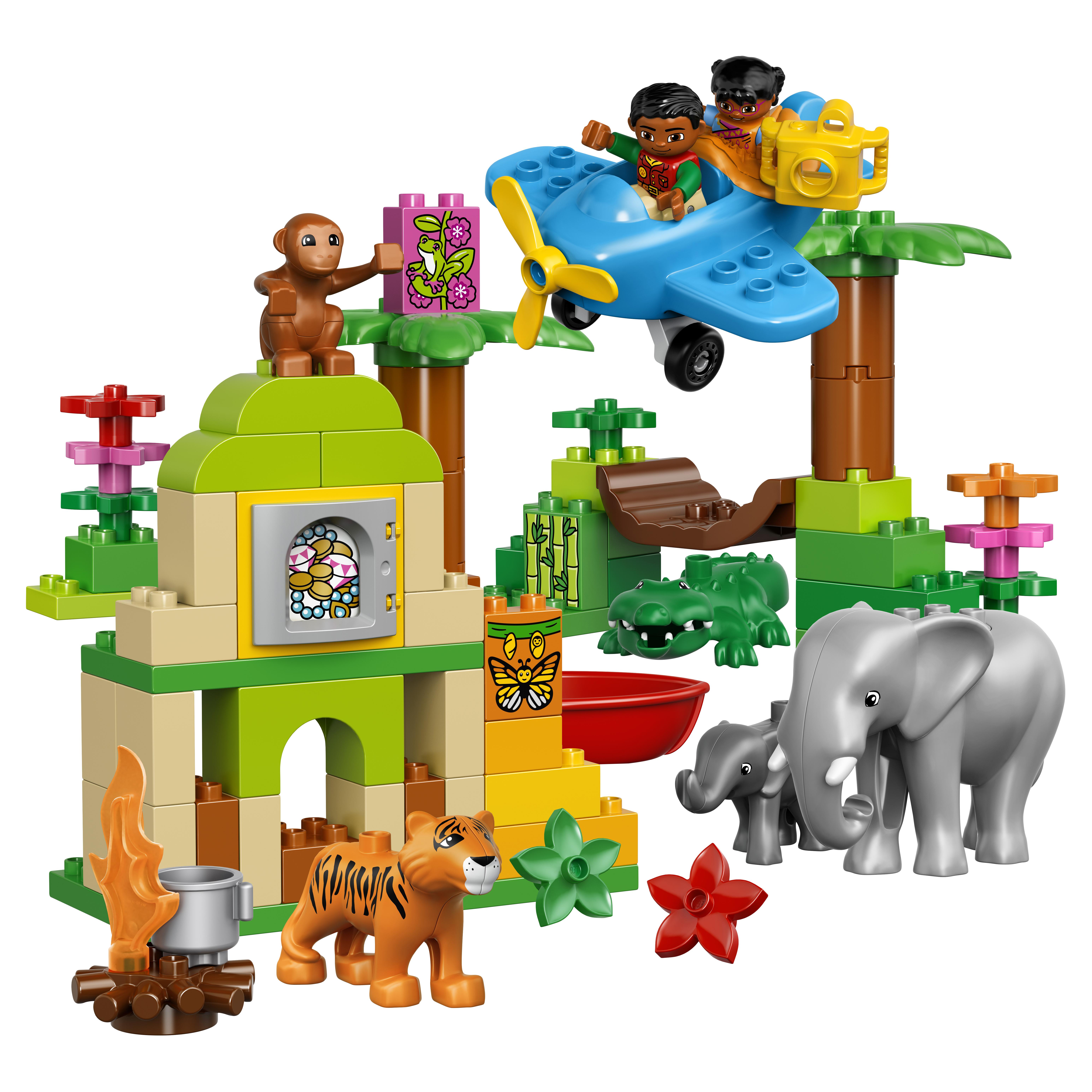 Конструктор LEGO Duplo Town Вокруг света: Азия