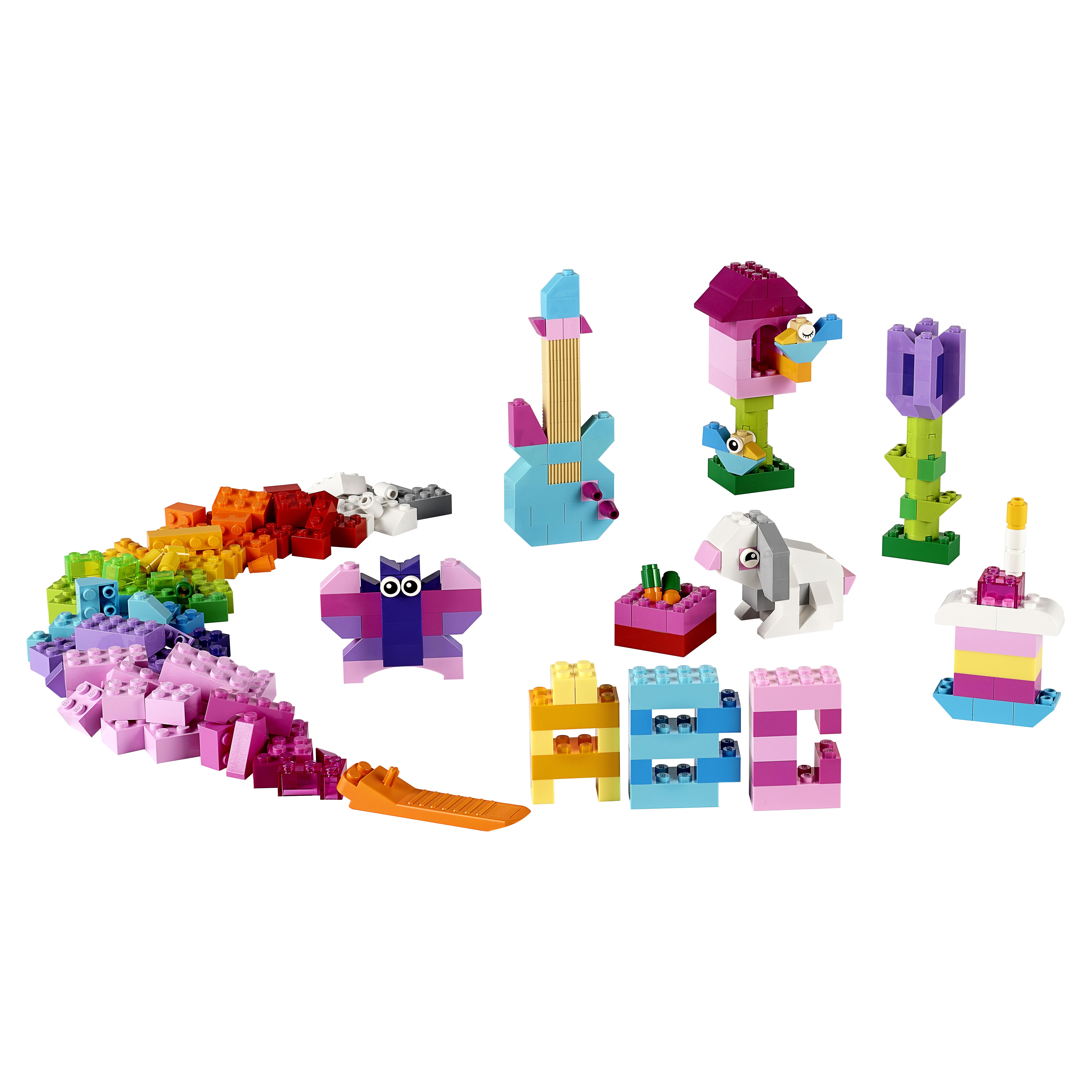 Купить Конструктор lego classic дополнение к набору для творчества – пастельные цвета 10694, Конструктор LEGO Classic Дополнение к набору для творчества – пастельные цвета (10694), LEGO для девочек