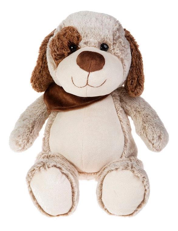 Купить Мягкая игрушка Button Blue Щенок Артемка, 21 см, Мягкие игрушки животные